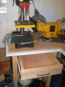Test Fitting of Drawer