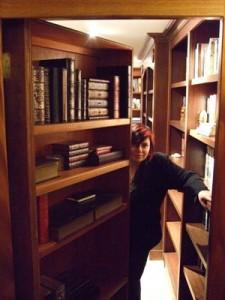 Steampunk Hidden Library