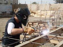 Helping People in Peru by Welding
