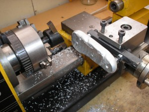 Flying Cutting - Milling in the lathe