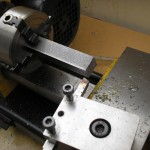 Machining square things in a lathe