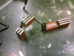 Magnetic Welding Clamps for tack welding