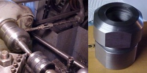 ER40 Collet chuck for Southbend Lathe