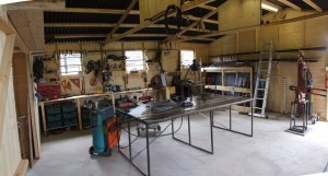 The new workshop
