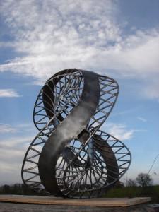 Saddle Diatom Sculpture