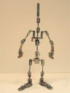 armature built for 'little girl' in ZUNE Moodbot