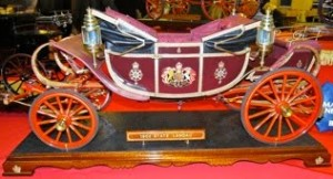 Model of the State Landau made by Peter G Smith, Photo thanks to David Carpenter of the Model Engineering Website