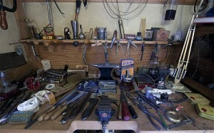 Photo of Lord Nuffields Bedroom Tool Cupboard by HEATHCLIFF O'MALLEY