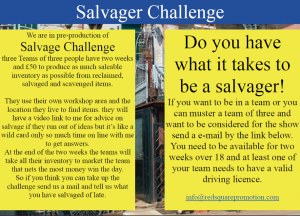 Salvager Challenge