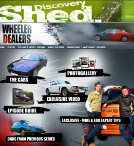 Watch Wheeler Dealers on Discovery Shed