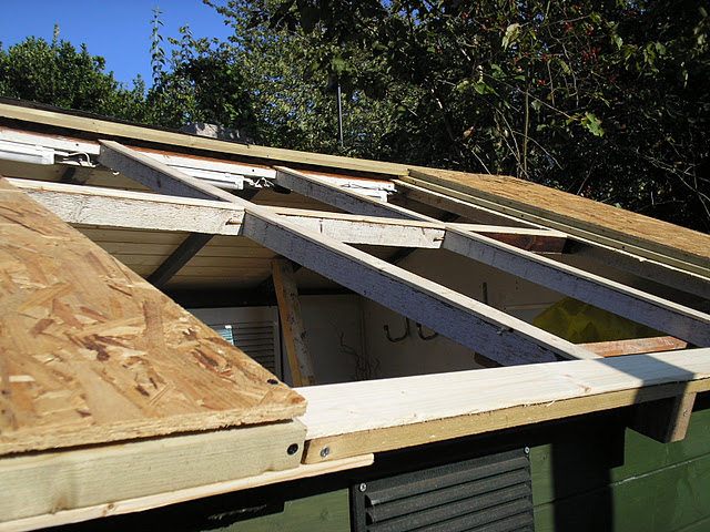 Shed Roof Part 3 Installing The Window Workshopshed