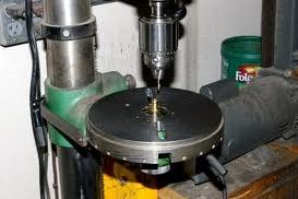 Drill press and rotary table