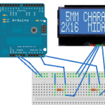 A little venture with electronics - Wiring in the LCD