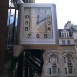 Clocks on Bond Street