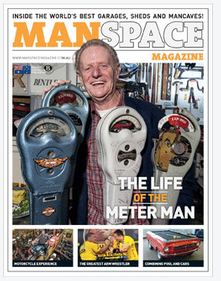 Spring 2013 Cover - ManSpace Magazine