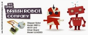 BYJ-48 Stepper Motor and ULN2003 Driver - Little British Robot Company Affiliate Scheme