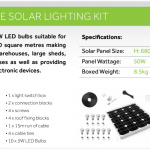 Geo5 Solarpower Kit