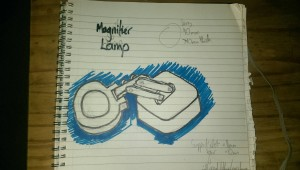 Design of a Magnifier Lamp