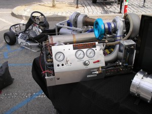 Amateur Turbine Propulsion Test Rig