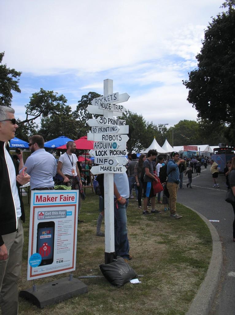 Maker Faire Sign