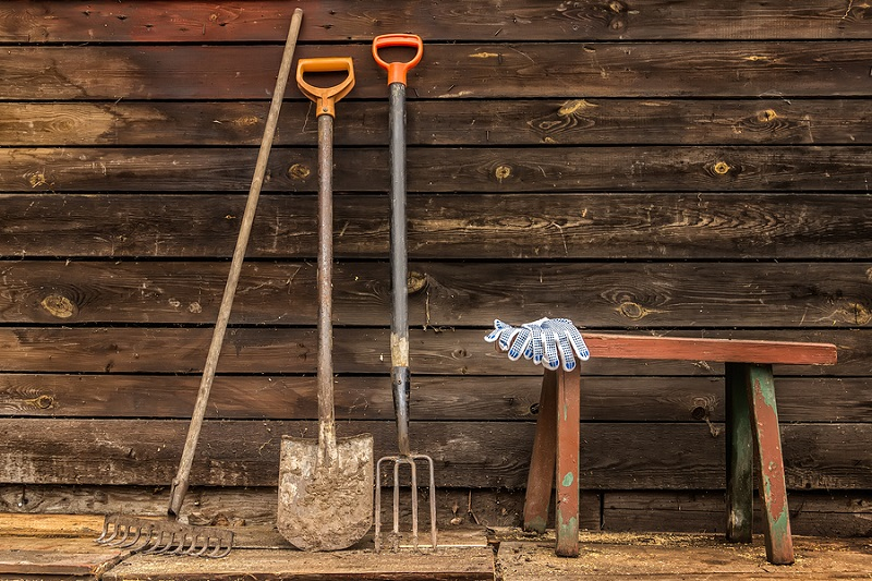How to Clean Your Rusty Garden Tools