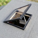Fitting the shed skylight
