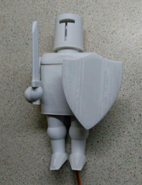 Printed Knight