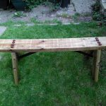 Simple garden bench - Finishing