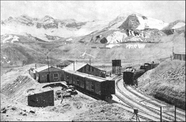 Station at Ticlio from Mike's Railroad History