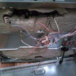 Oven fixing
