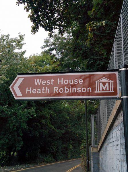 Heath Robinson sign