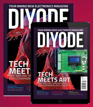 Issue 1 from DIYODE magazine