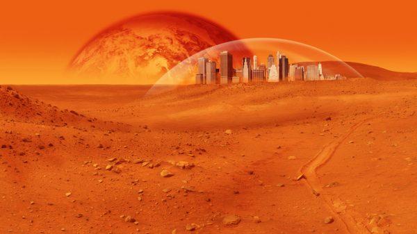 Mars (c) deandrobot www.fotosearch.com Stock Photography