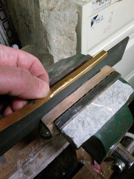 Forming brass