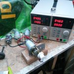 Jumbo Servo Motor Current