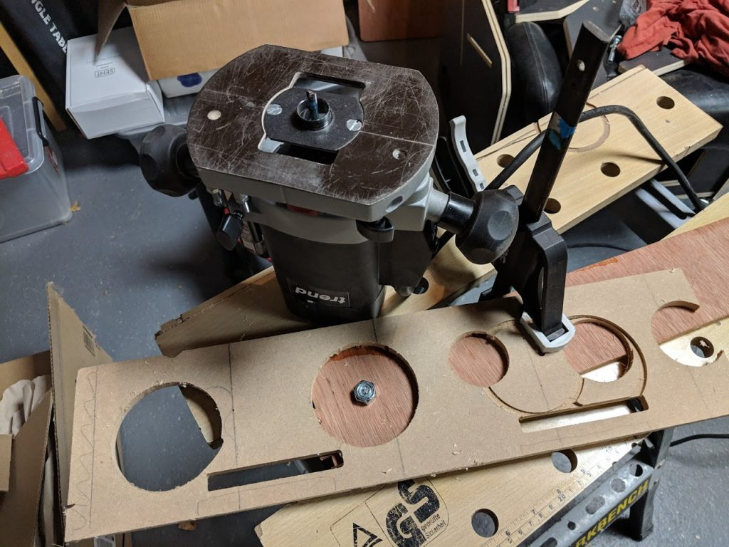 Router and jigs
