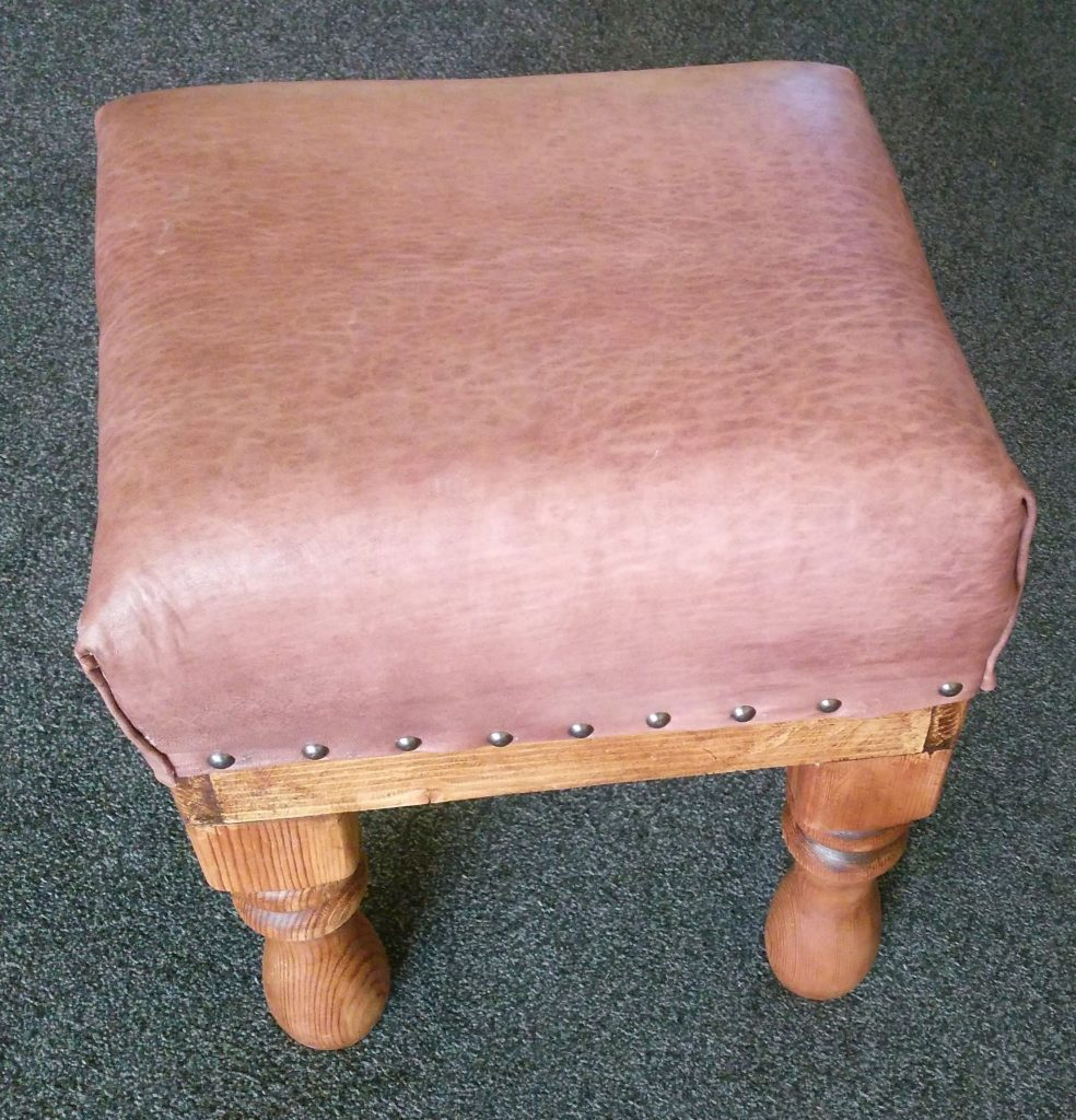 Footstool repaired